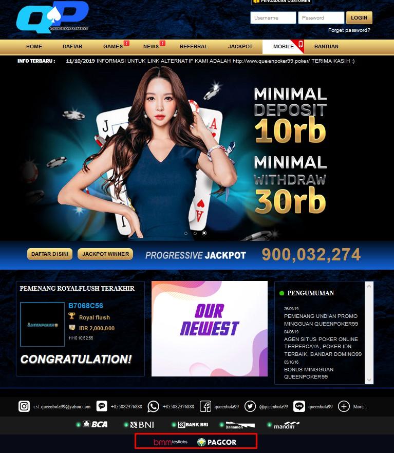 queenpoker99 situs judi terpercaya - Agen Situs Poker Online Terpercaya Terbaik Indonesia
